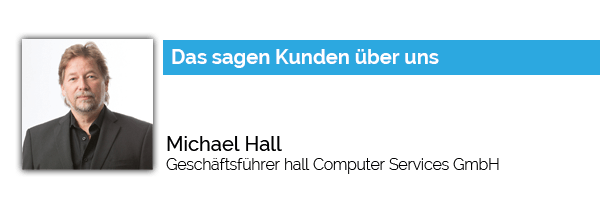 Blog Michael Hall Computer Services GmbH Referenz